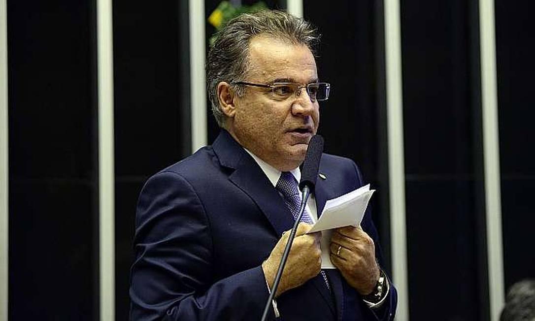 O deputado federal Samuel Moreira (PSDB-SP) relator da reforma da Previdência Foto: Agência Câmara