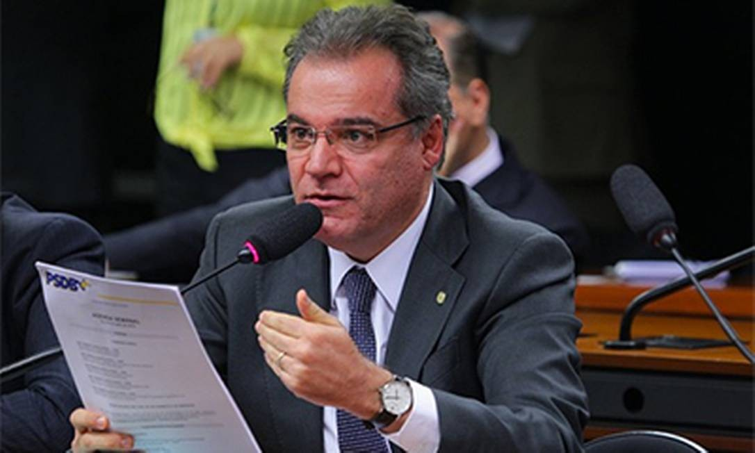 O deputado federal Samuel Moreira (PSDB-SP) Foto: Reprodução/ www.samuelmoreira.com.br