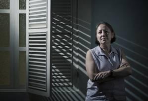 Nicaraguense María Teresa Blandón veio ao Brasil para falar no Senado sobre a experiência de criminalização absoluta do aborto que ocorre em seu país, desde 2006 Foto: Leo Martins / Agência O Globo