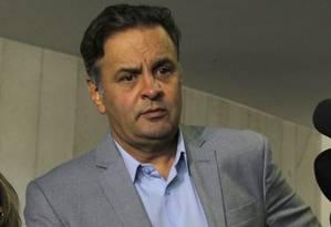 Senador Aécio Neves (PSDB-MG) Foto: Givaldo Barbosa / Arquivo O Globo
