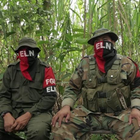 Guerrilha do ELN mantém luta contra o Estado da Colômbia desde 1964 Foto: El Tiempo/GDA