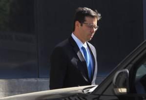 O ex-vereador do PT Alexandre Romano foi preso na 18ª fase da Operação Lava-Jato Foto: Marcos Alves / Agência O Globo