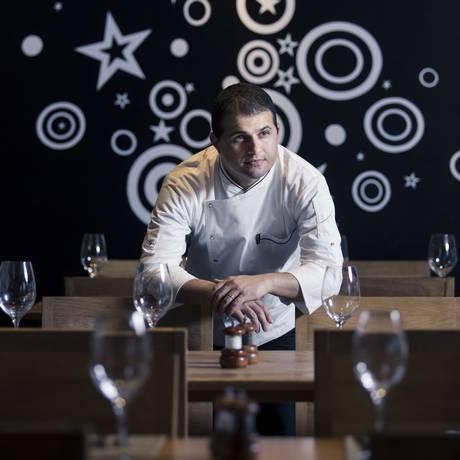 O chef José Aparecido Veiga de Araújo assume o Brisa Foto: Leo Martins/ Agência O Globo