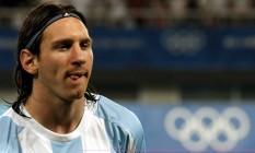 Messi em ação nas Olimpíadas de 2008, em Pequim: ouro para a Argentina Foto: KERIM OKTEN / EFE