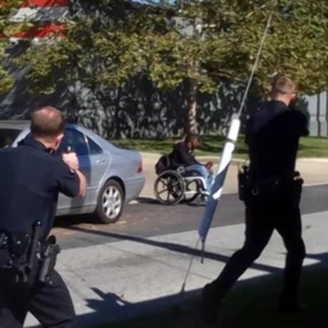Jeremy McDole, de 28 anos, foi baleado por agentes da polícia em Delaware Foto: Reprodução de Internet
