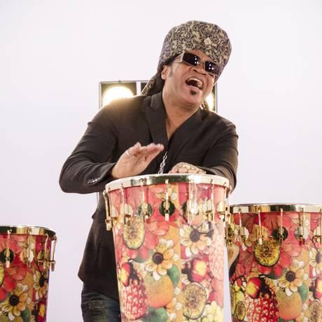 O músico Carlinhos Brown Foto: Raphael Dias/Divulgação
