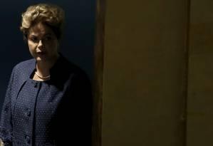 Dilma prepara-se para apresentar as metas brasileiras de redução de gases-estufa no plenário da ONU Foto: MIKE SEGAR/Reuters