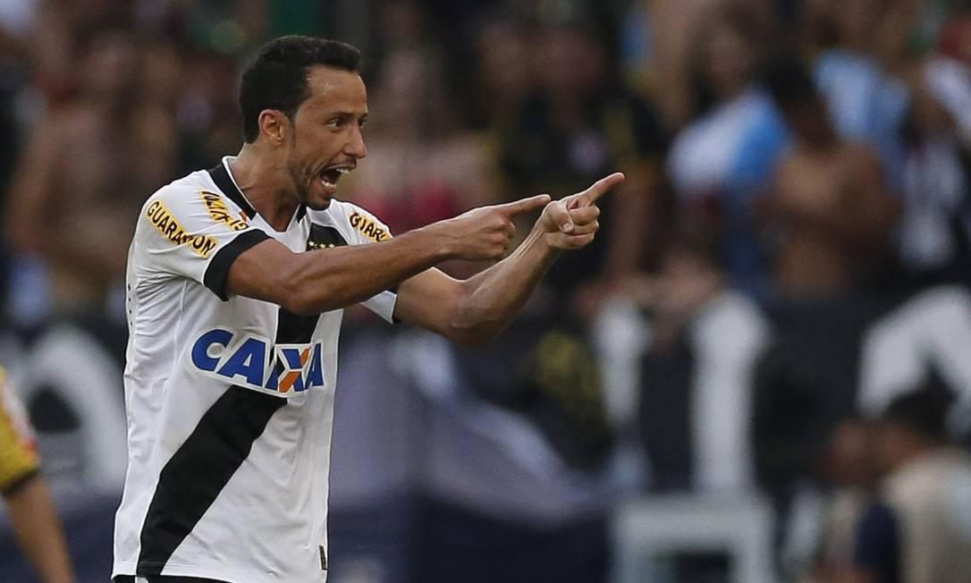 Nenê comemora o segundo gol do Vasco Alexandre Cassiano / Agência O Globo