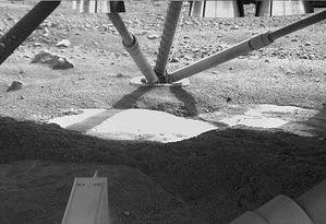 Em 2008, Nilton Rennó observou pequenas gotas d'água em uma das hastes da sonda Phoenix Foto: NASA