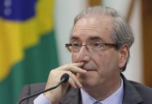 O presidente da Câmara, Eduardo Cunha (PMDB-RJ) Foto: Ailton de Freitas/25-9-2015