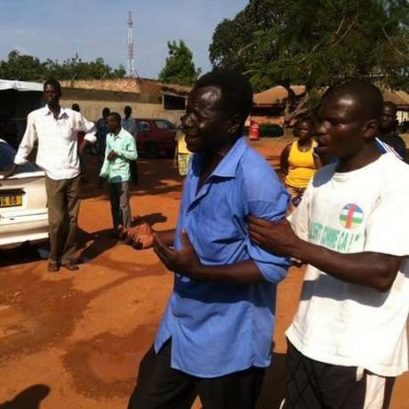 Conflitos em bangui vitimaram pelo menos 36 pessoas Foto: Herve Serefio / Reprodução