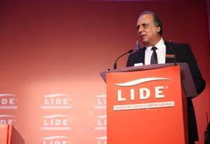O governador do Rio, Luiz Fernando Pezão Foto: Divulgação / Fredy Uhera
