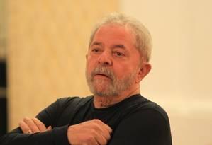 O ex-presidente Lula Foto: Marcos Alves