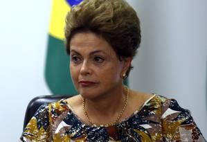 Presidente Dilma Rousseff Foto: Givaldo Barbosa / Agência O Globo