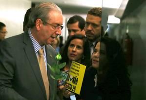 O presidente da Câmara, Eduardo Cunha Foto: Jorge William / Agência O Globo