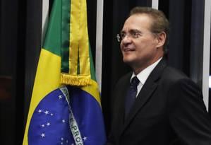 Presidente do Senado Federal Renan Calheiros (PMDB-AL) Foto: Ailton de Freitas / Agência O Globo