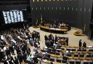 O plenário da Câmara Federal Foto: Luis Macedo / Divulgalção