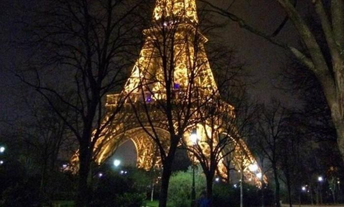 Torre Eiffel, Paris Foto: @andersonfabricio / Instagram