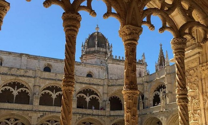 Mosteiro dos Jeronimos, Lisboa Foto: @ingridbucherguimaraes / Instagram