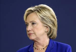 Hillary Clinton tem sido muito questionada por se expor a riscos de violação da segurança nacional Foto: Charlie Neibergall / AP