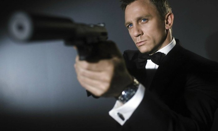 """James Bond na pele de Daniel Craig pela quarta vez, em """"007 contra Spectre"""" Foto: Reprodução"""
