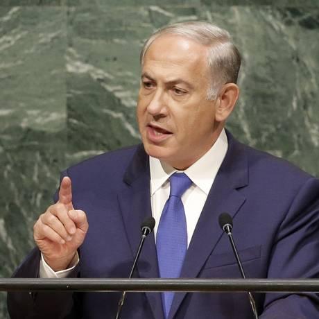 Benjamin Netanyahu discursa na ONU Foto: Seth Wenig / AP