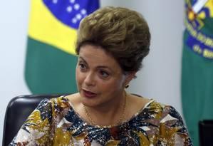 A presidente Dilma Rousseff Foto: Givaldo Barbosa/17-9-2015