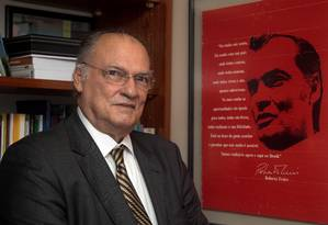 O líder do PPS, deputado Roberto Freire Foto: Jorge William