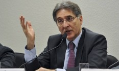 O governador de Minas Gerais, Fernando Pimentel Foto: Antônio Cruz / Divulgação