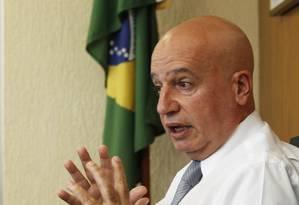 Valdir Simão, ministro da CGU Foto: Jorge William / Agência O Globo