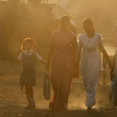 Poluição em Mumbai Foto: Arko Datta / REUTERS