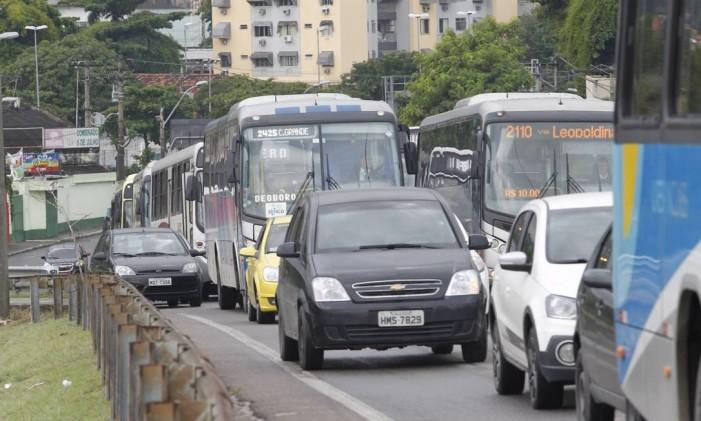 Mobilidade Urbana Foto: Pedro Teixeira / Agência O Globo