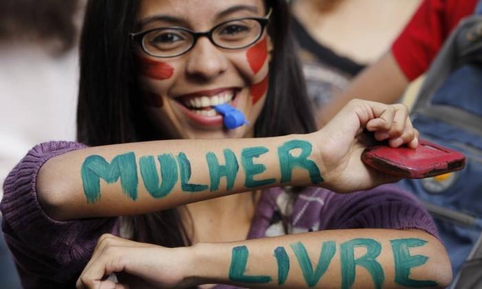 Igualdade de Gênero Foto: Michel Filho / Agência O Globo