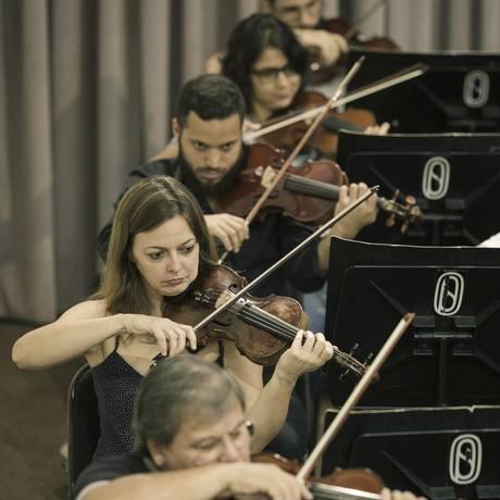 No compasso. Música clássica e interpretação Foto: Leo Martins / Agência O Globo