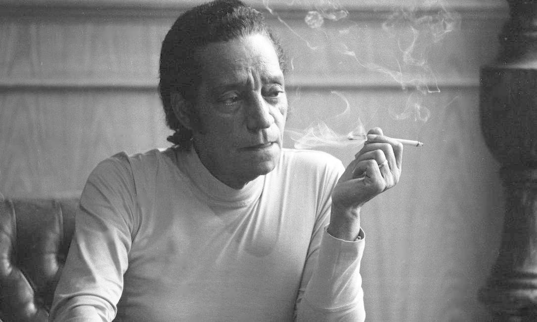 O cantor Orlando Silva Foto: / Pedro Martinelli/12-10-1973