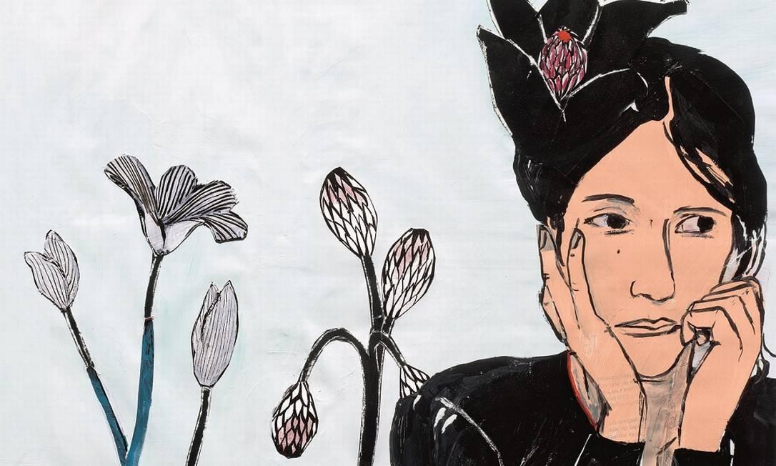 """Arte de Vania Mignone para o livro """"Novelas exemplares"""" de Miguel de Cervantes, coletânea até então inédita no Brasil Foto: Divulgação/Cosac"""