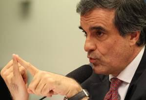 O ministro da Justiça, José Eduardo Cardozo Foto: Jorge William