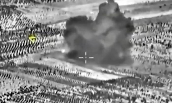 Rússia fez mais de 20 investidas na Síria
