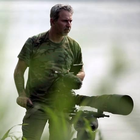 O mergulhador e documentarista Lawrence Wahba Foto: Divulgação