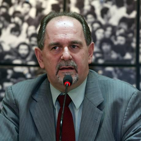 Ex-presidente da Petrobras José Eduardo Dutra Foto: André Coelho / 27/07/2010