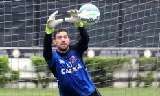 O goleiro Martín Silva deve continuar no Vasco em 2016 Foto: Paulo Fernandes / Vasco.com.br