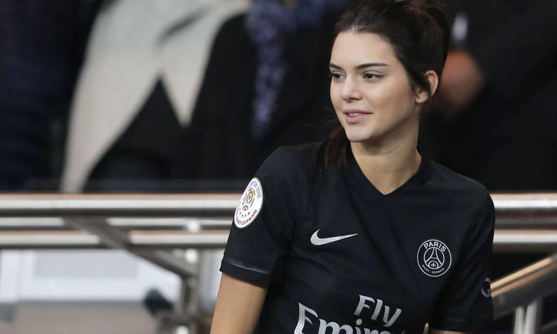 A torcida de Kendall ajudou o PSG REGIS DUVIGNAU / REUTERS