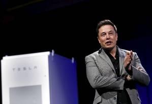 Elon Musk falou sobre o projeto pela primeira vez no mês passado Foto: PATRICK T. FALLON / REUTERS