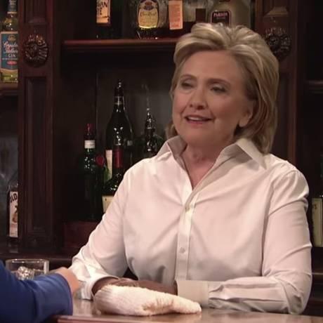 Participação de Hillary ofuscou presença dos demais convidados do Saturday Night Live Foto: Reprodução