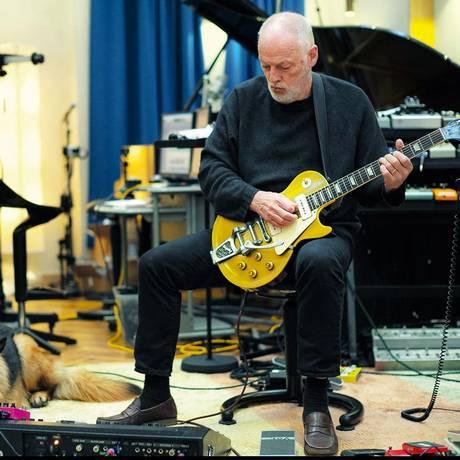 David Gilmour: 'Rattle that lock' é o quarto disco de uma carreira de meio século e o primeiro em quase uma década Foto: Divulgação
