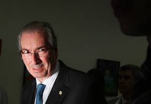O presidente da Câmara dos Deputados, Eduardo Cunha, Foto: Michel Filho 02/10/2015 / Agência O Globo