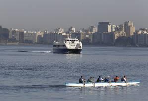 Catamarã que faz o trajeto Charitas Praça-Quinze Foto: Pablo Jacob / Agência O Globo