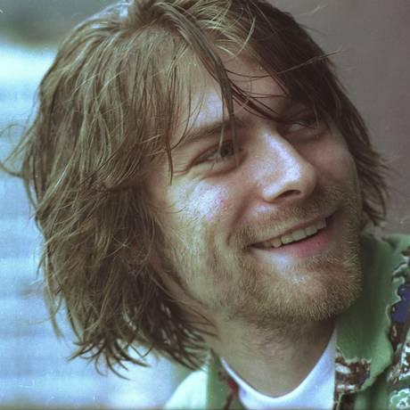 Kurt Cobain, vocalista e guitarrista da banda Nirvana Foto: Márcia Foletto