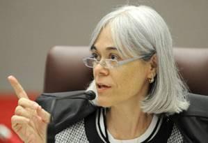 Ministra Maria Thereza de Assis Moura do Tribunal Superior Eleitoral (TSE) Foto: Divulgação TSE