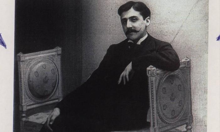 O escritor francês Marcel Proust Foto: Divulgação
